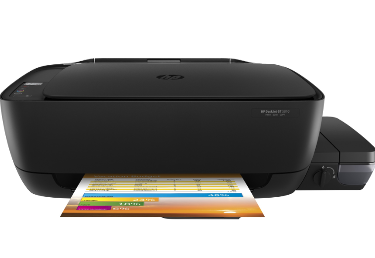 HP DeskJet GT 5810 All-in-One Drivers and Software Printer Full Feature
