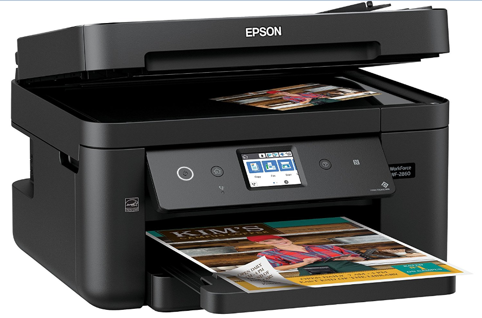 Epson WorkForce WF-2860 Driver and Software For windows and Mac