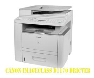 Canon ImageClass D1170 driver