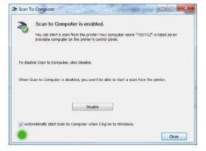 HP Deskjet 2652 Scan to Computer