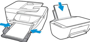 HP Deskjet 2652 keeps saying out of paper